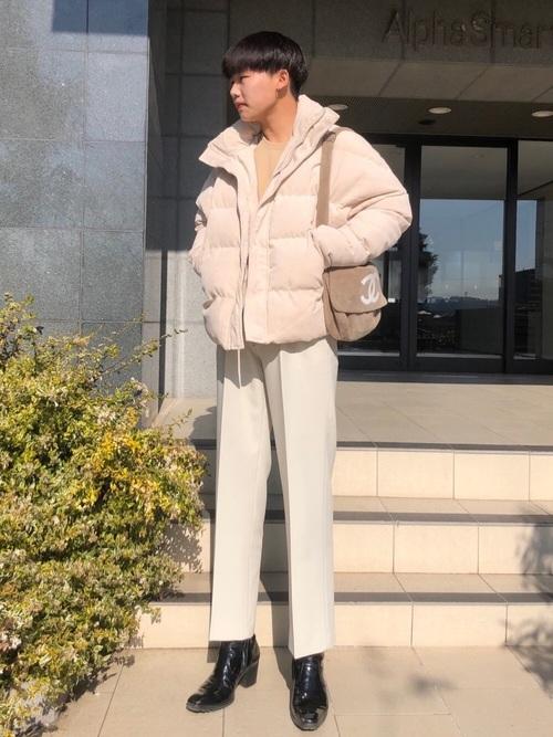 韓国ファッションの着こなし